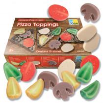 Sensory Play Stones, Pizza Toppings - YUS1153 | Yellow Door Us Llc | Play Food