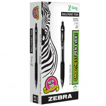 ZEB22210 - Z Grip Ballpoint Pen Black in Pens