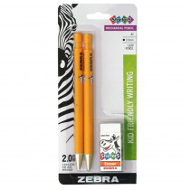 ZEB52802 - Cadoozles 2Pk Mechanical Pencils Blk Lead in Pencils & Accessories