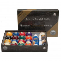Aramith Tournament Pro Cup Value Pack Billiard Ball Set