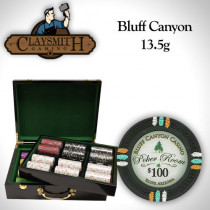 Bluff Canyon 500pc Poker Chip Set w/Hi Gloss Case