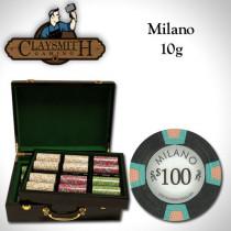 Claysmith Milano 500pc Poker Chip Set w/Hi Gloss Case