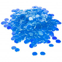300 Pack Blue Bingo Marker Chips