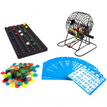 "Deluxe 6"" Bingo Game Set"