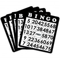 18 Black Bingo Cards