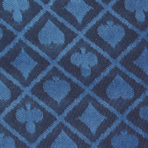 Blue Two-Tone Poker Table Speed Cloth - 1 Foot