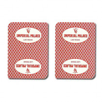 Imperial Palace Casino Used Playing Cards
