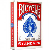 Bicycle 808 Standard Playing cards, Red
