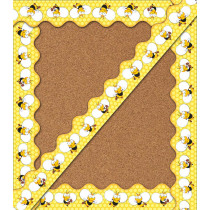 Buzz-Worthy Bees Scalloped Border, 39 Feet