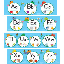 FUNky Frogs Alphabet Mini Bulletin Board Set