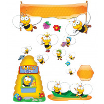 Buzz-Worthy Bees Bulletin Board Sets, Grades PK-5