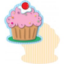 Carson Dellosa CD-120152 Cupcakes Mini Cut Outs