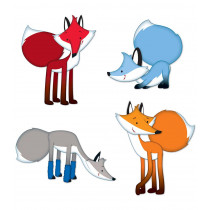 Playful Foxes Cut-Outs