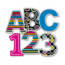 """Carson Dellosa CD-130060 Colorful Chalkboard 3"""" EZ Letters"""