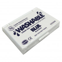 CE-504 - Stamp Pad Washable Blue in Stamps & Stamp Pads