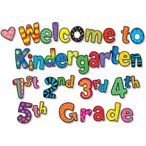 CTP2128 - Welcome To Kindergarten 1St 2Nd 3Rd 4Th 5Th Grs Mini-Bb in Classroom Theme