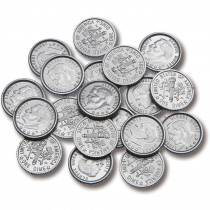 CTU7523 - Plastic Coins 100 Dimes in Money