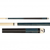 Dufferin D-237 Deep Blue Stained Pool Cue Stick