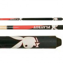 Minnesota Fats Black/Red Playboy Pool Cue