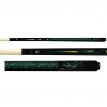 Lucky Pool Cue, L65, Black Leprechaun