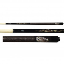 Lucky Pool Cue, L67, Black Owl