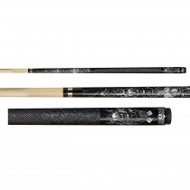 Players D-CN Killer Klown Live Hard Pool Cue Stick