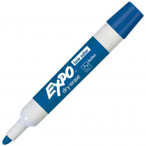 SAN82003 - Expo Dry Erase Markers Bullet Tip Blue in Markers