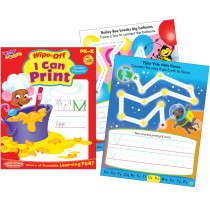 Trend T-94120 I Can Print Wipe-Off Book in Language Arts