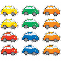 TCR5421 - Cartoon Cars Mini Accents 36 Pcs in Accents