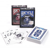 Bicycle Pro Poker Peek Index Playing Cards