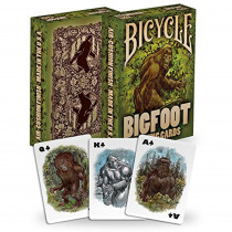 Bicycle Bigfoot Playing Cards