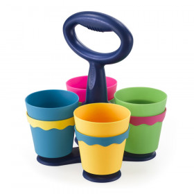 School Scissor Caddy with Anti-Microbial Protection