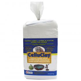 Celluclay Bright White, 5 lbs.