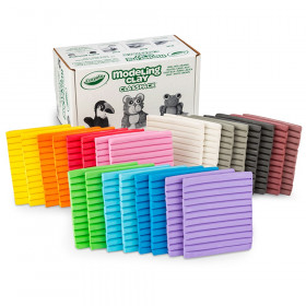 Crayola Modeling Clay Classpack, Assorted Colors, Set of 24