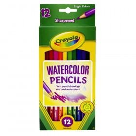 Watercolor Pencils, 12 Count