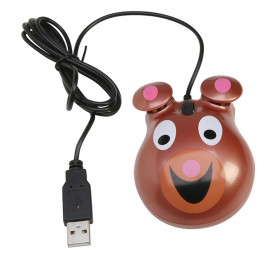 Animal-Themed Computer Mice Bear Motif