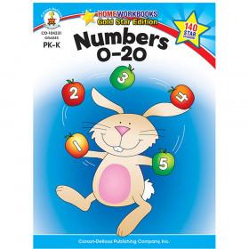 Numbers 0-20, Grades PK - K