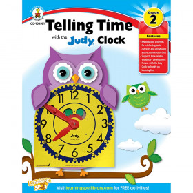 Telling Time With Judy Clock Gr 2