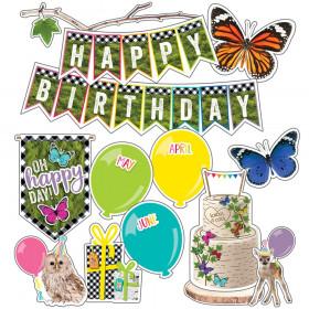 Birthday Mini Bulletin Board Set Woodland Whimsy