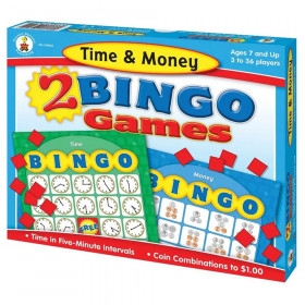 Time & Money Bingo Board Game