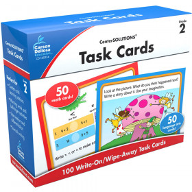 Task Cards Learning Cards, Grade 2