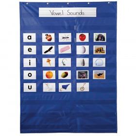 Essential Pocket Chart, Blue
