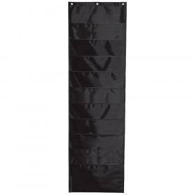 Storage Pocket Chart, Black