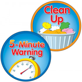 5 Minute Warning Clean Up Two Sided Decorations