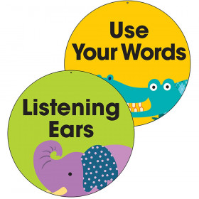 Use Your Words Listening Ears Two Sided Decorations