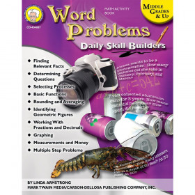 Word Problems, Grades 6 - 12