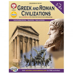 Greek and Roman Civilizations, Grades 5 - 8
