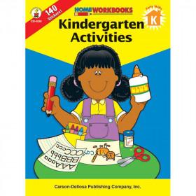 Kindergarten Activities Home Workbook