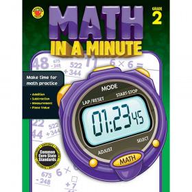 Math In A Minute Book Gr 2