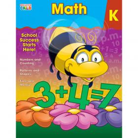 Math Workbook, Grade K